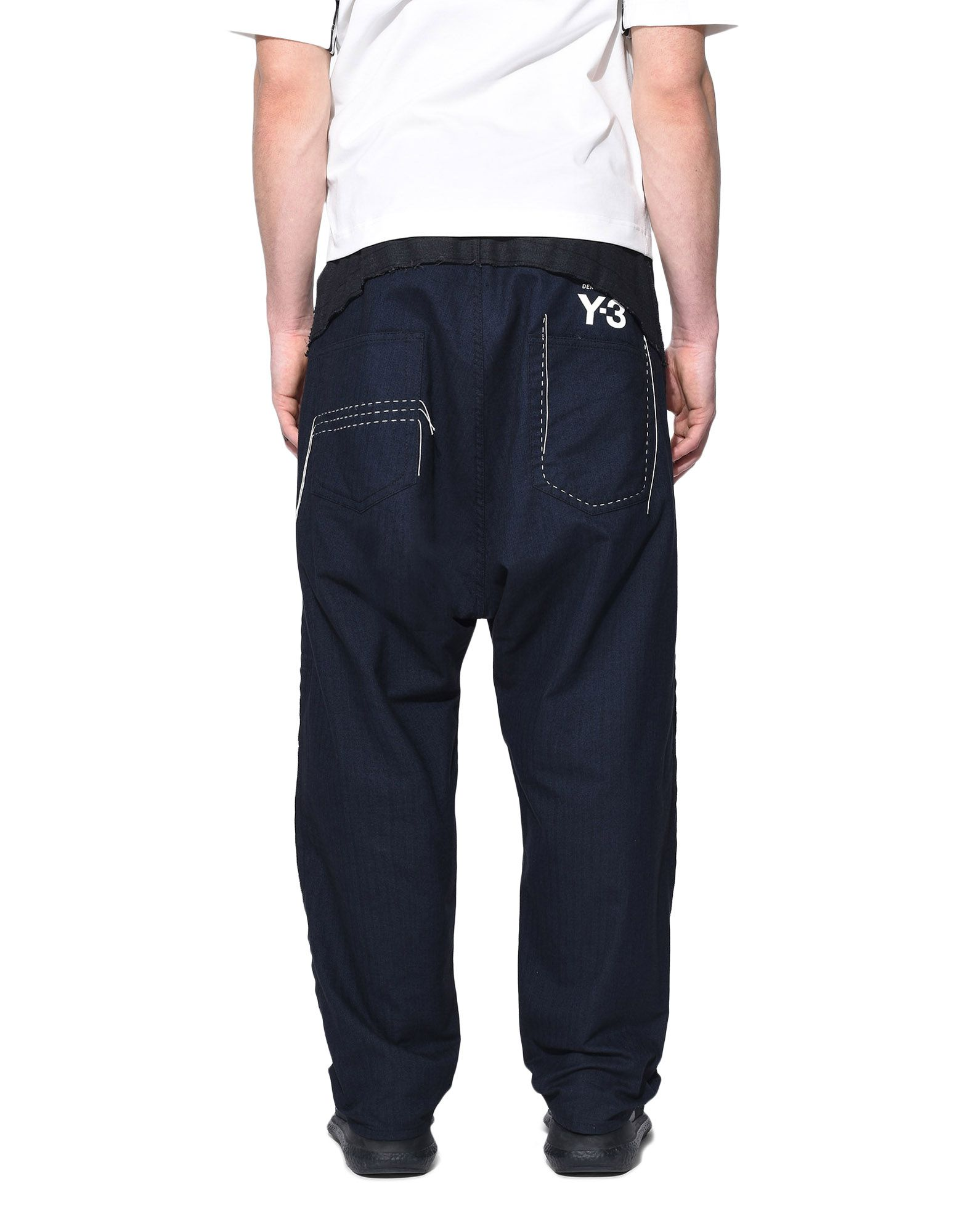 Y-3 Y-3 Herringbone Tailored Pants Klassische Hosen Herren d