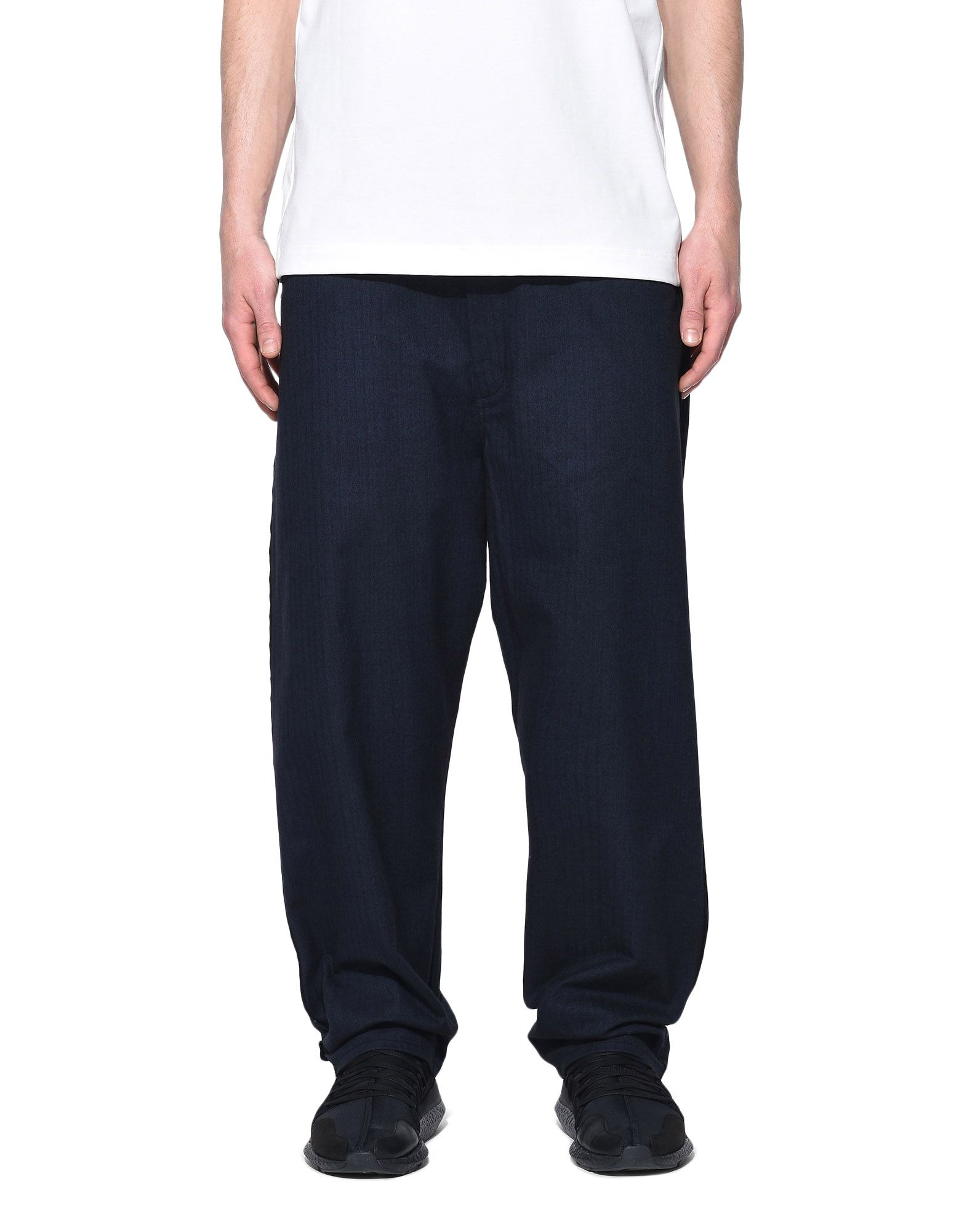 Y-3 Y-3 Herringbone Tailored Pants Klassische Hosen Herren r