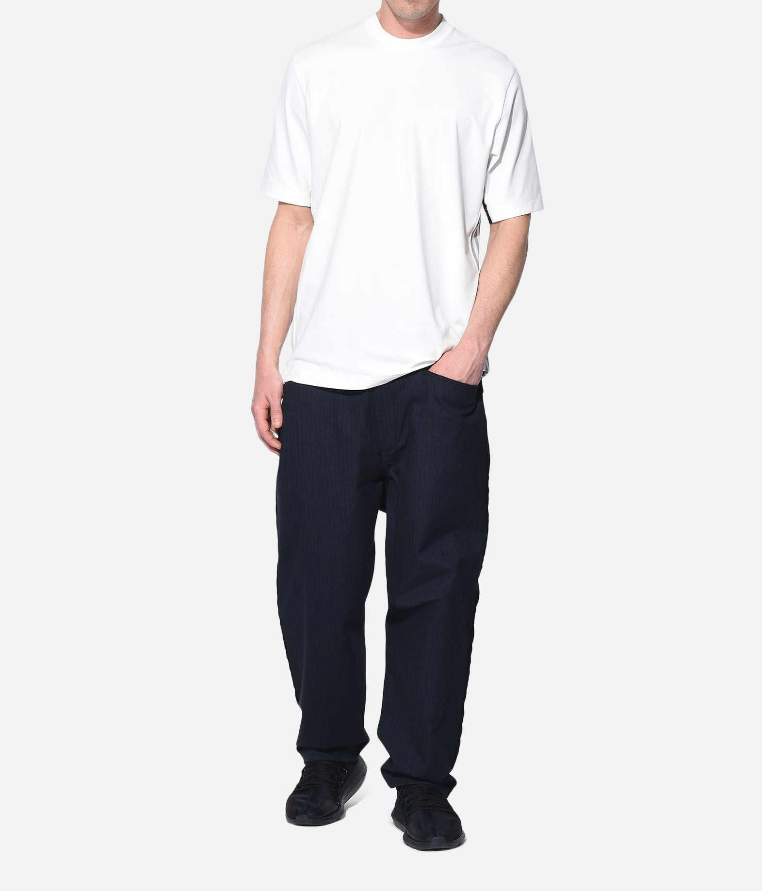Y-3 Y-3 Herringbone Tailored Pants Formal trouser Man a