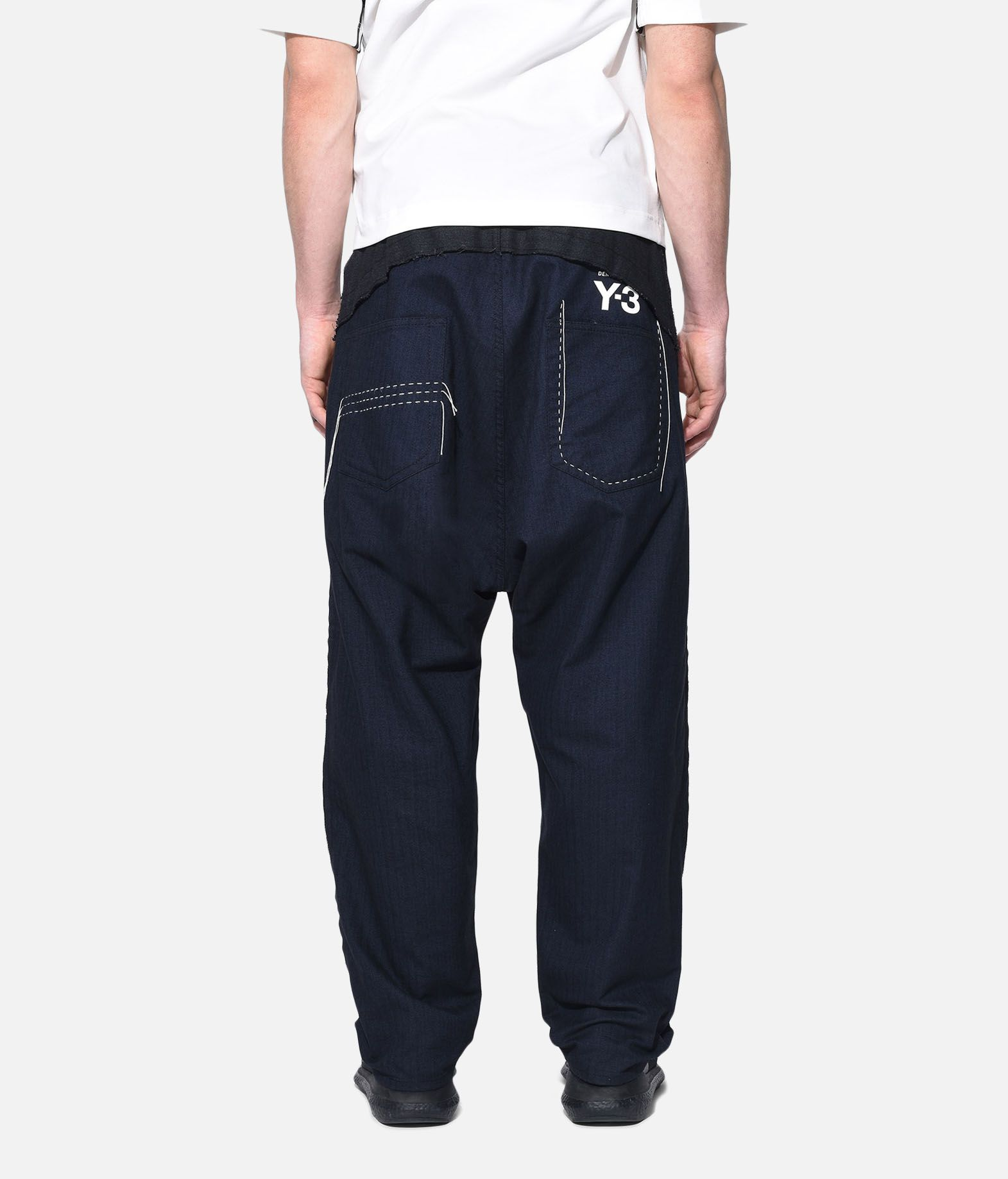 Y-3 Y-3 Herringbone Tailored Pants Formal trouser Man d