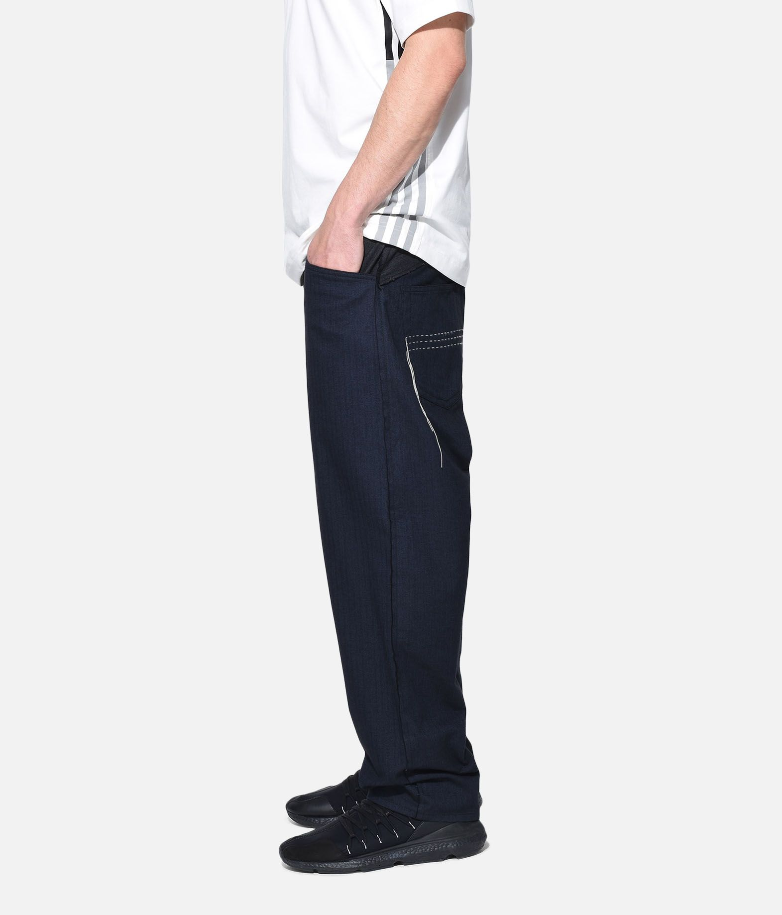 Y-3 Y-3 Herringbone Tailored Pants Formal trouser Man e