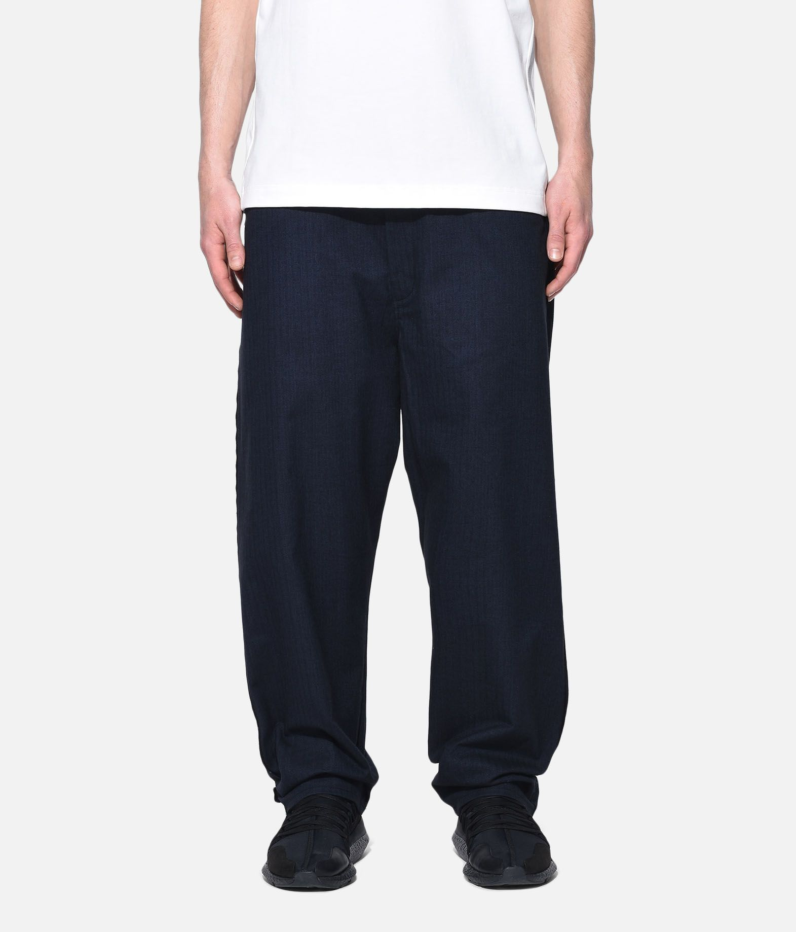 Y-3 Y-3 Herringbone Tailored Pants Formal trouser Man r