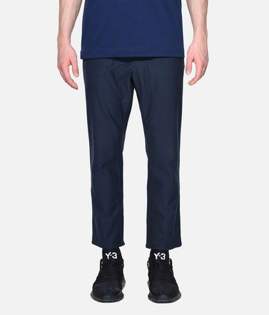 Y-3 Cropped pant Man Y-3 Twill Cropped Pants r