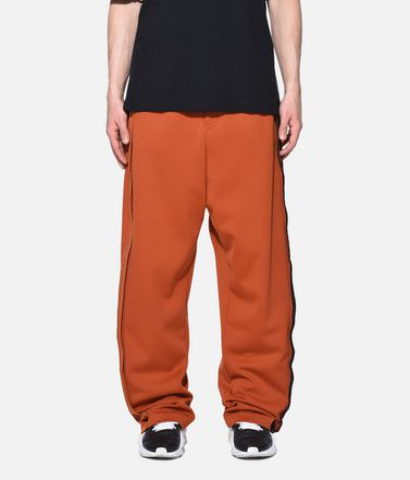 Y-3 Tracksuit bottoms Man Y-3 3-Stripes Selvedge Wide Pants r