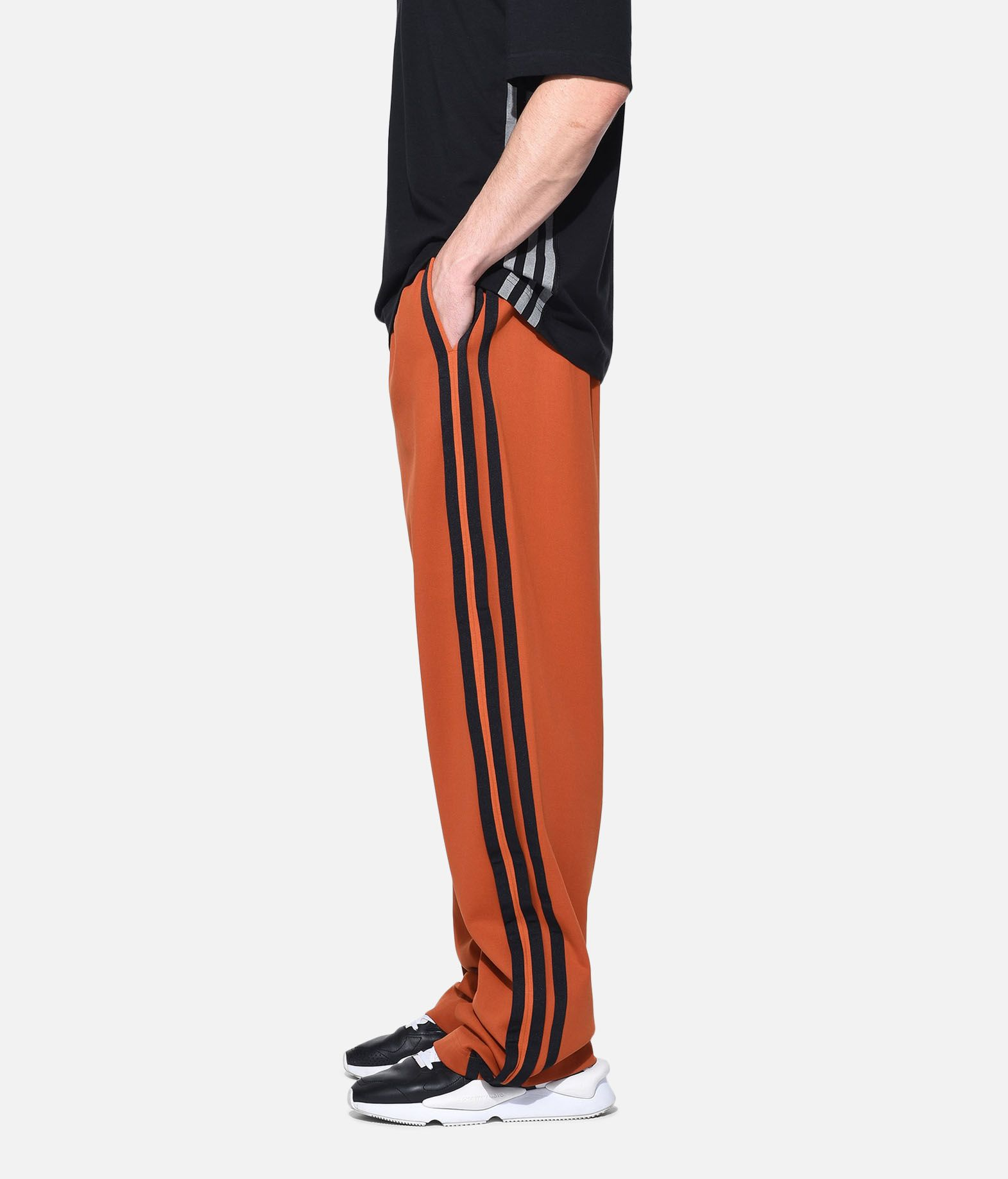 Y-3 Y-3 3-Stripes Selvedge Wide Pants Tracksuit pants Man e