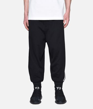 Y-3 トレーニングパンツ メンズ Y-3 3-Stripes Selvedge Matte Track Pants r