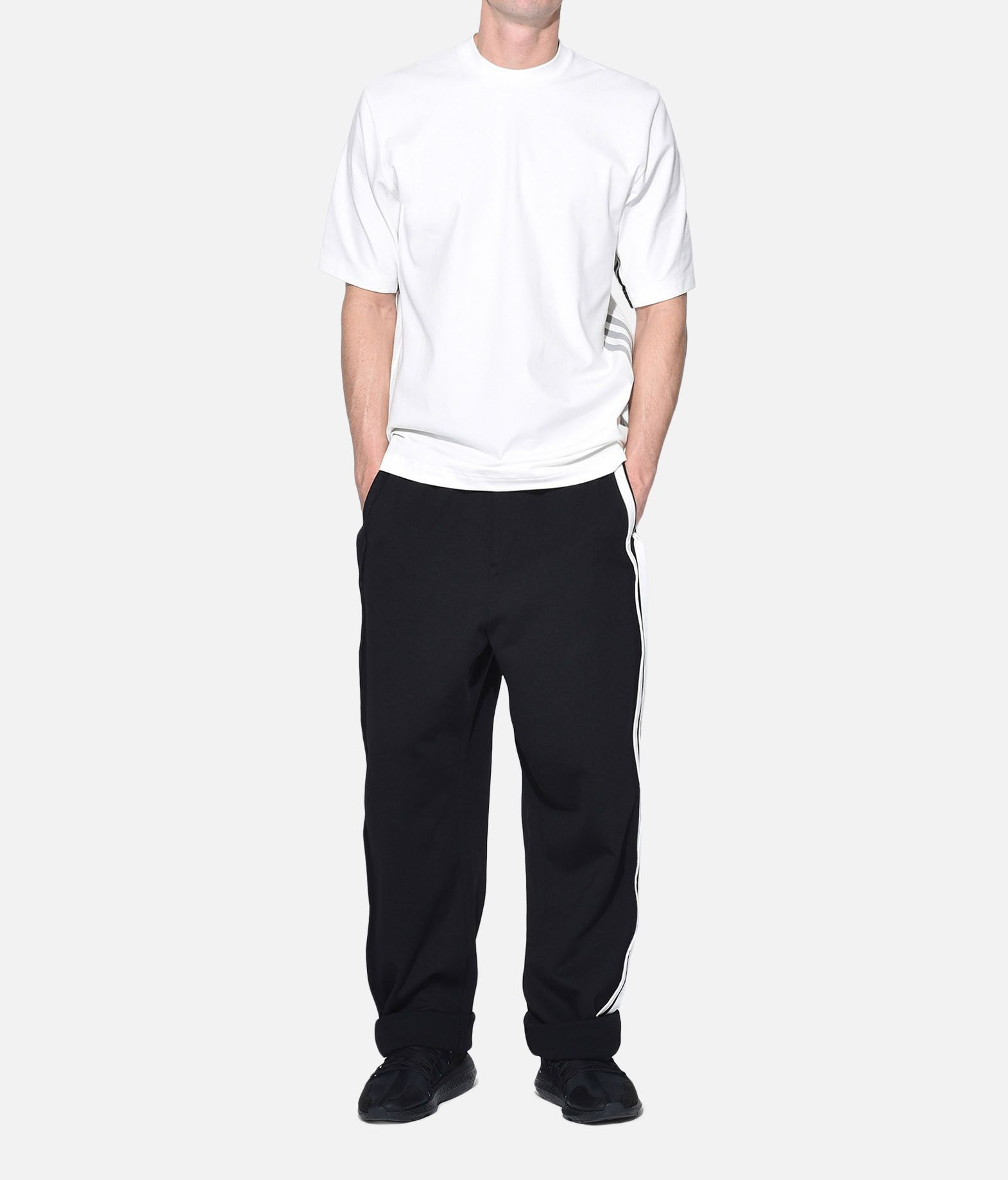 Y-3 Y-3 3-Stripes Selvedge Wide Pants Спортивные штаны Для Мужчин a