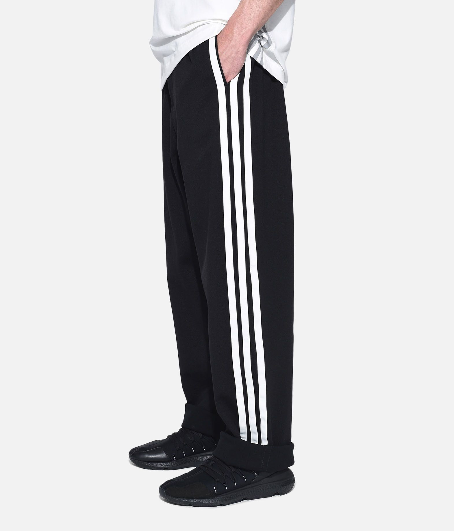 Y-3 Y-3 3-Stripes Selvedge Wide Pants Спортивные штаны Для Мужчин e