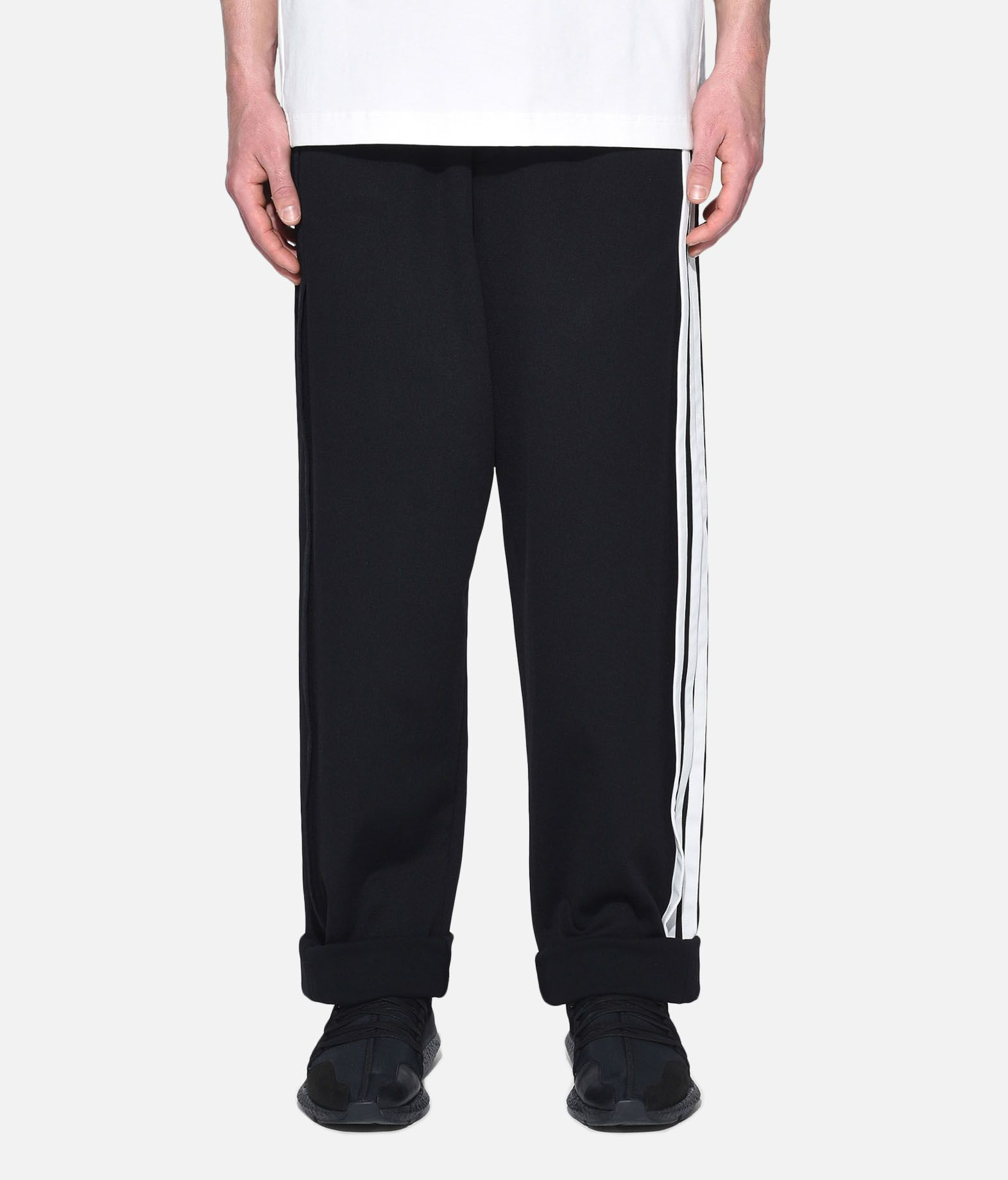 Y-3 Y-3 3-Stripes Selvedge Wide Pants Tracksuit bottoms Man r