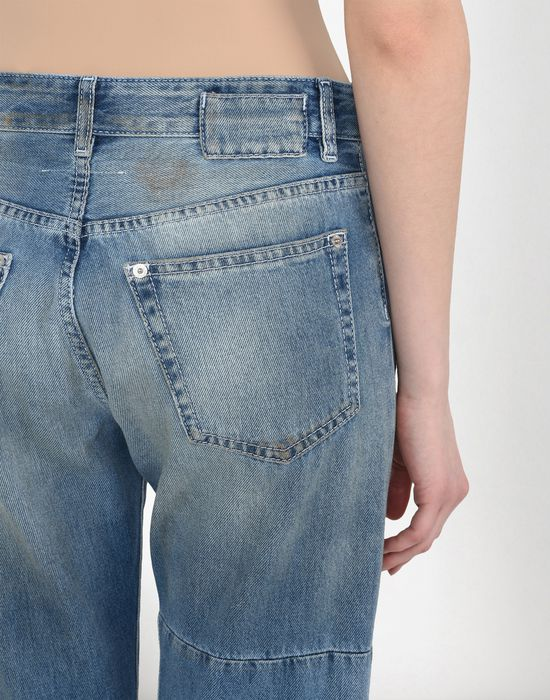 MM6 MAISON MARGIELA Vintage wash patchwork jeans Jeans Woman a