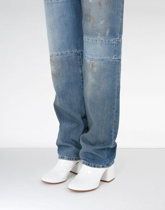 MM6 MAISON MARGIELA Vintage wash patchwork jeans Jeans Woman e