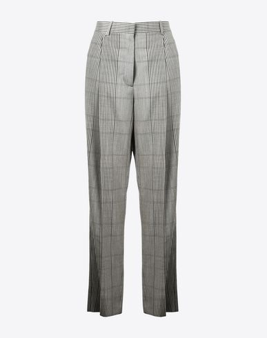 MAISON MARGIELA Trousers Woman Viscose stripe trousers f