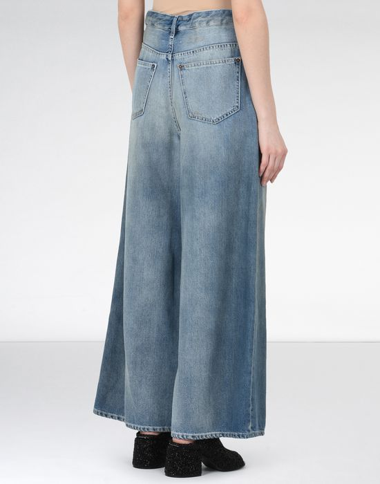 MM6 MAISON MARGIELA Oversized drawstring jeans Jeans [*** pickupInStoreShipping_info ***] d