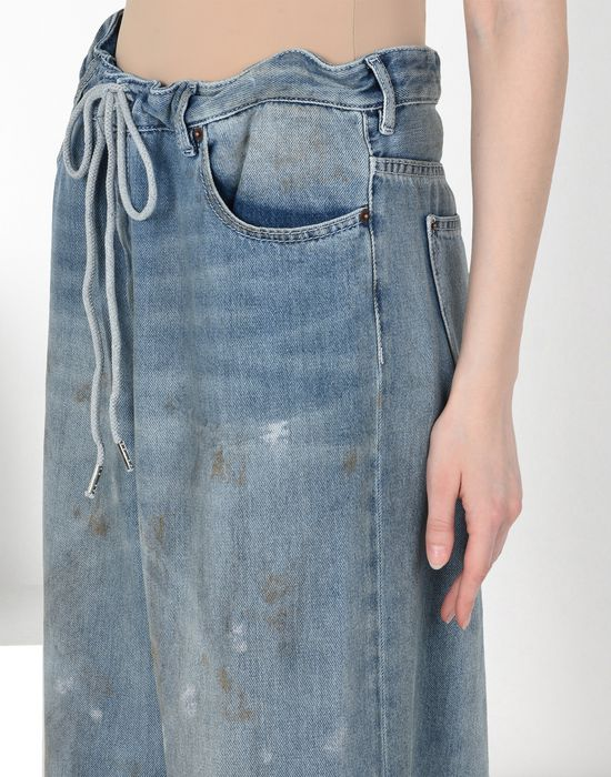 MM6 MAISON MARGIELA Oversized drawstring jeans Jeans [*** pickupInStoreShipping_info ***] e