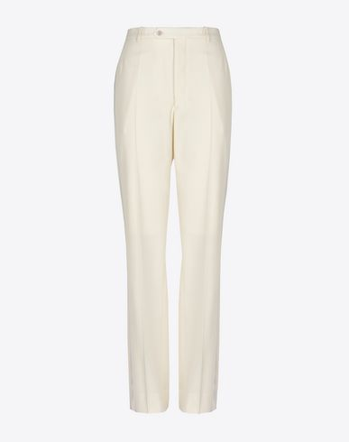 MAISON MARGIELA Trousers Woman Stretch virgin wool trousers f