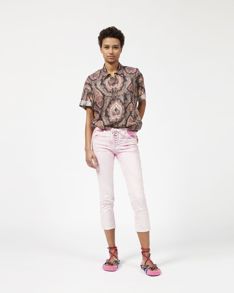 RUPSTER stretch jeans with laces ISABEL MARANT