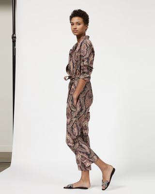 ISABEL MARANT JUMPSUIT Woman XULIA printed jumpsuit r