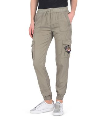 NAPAPIJRI MIRA WOMAN CARGO TROUSERS,MILITARY GREEN