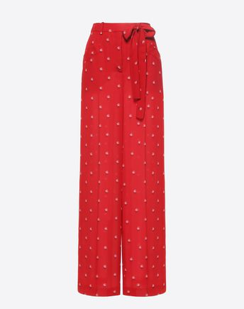 VALENTINO Trousers D Vinyl Trousers f
