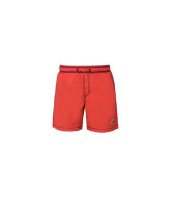 NAPAPIJRI K VILLA SOLID JUNIOR KID SWIMMING TRUNKS,RED