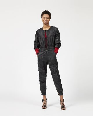MALLORY waxed cotton jumpsuit