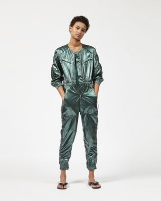 ATHINA metallic jumpsuit