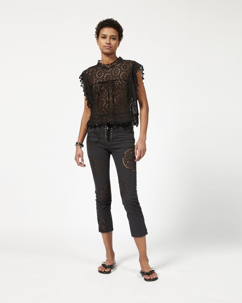 RUPER embroidered pants ISABEL MARANT