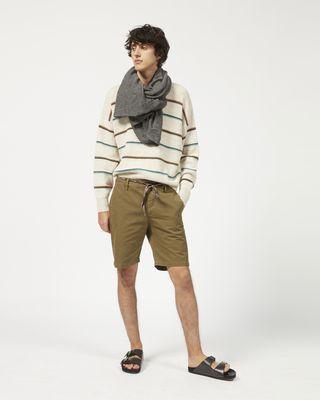 LAMAR cotton shorts