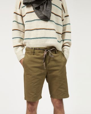 ISABEL MARANT SHORTS Man LAMAR cotton shorts r