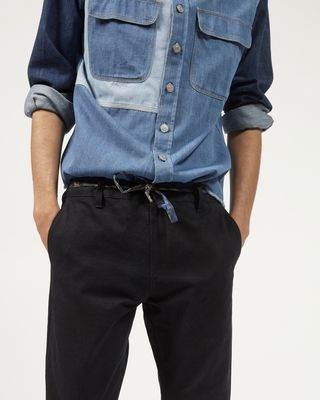 ISABEL MARANT TROUSER Man LAHORE cotton trousers  r