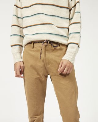 ISABEL MARANT TROUSER Man LAHORE cotton trousers  r