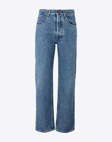 MAISON MARGIELA Jeans Woman Cropped vintage wash jeans f