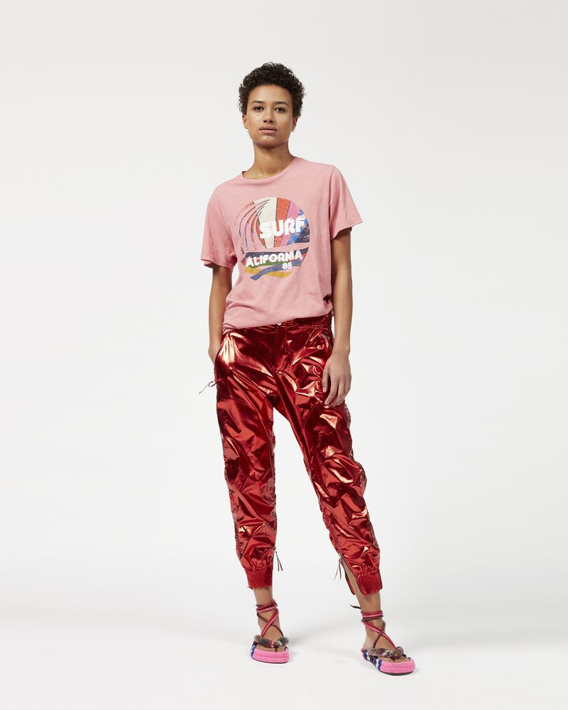ARUSO metallic trousers  ISABEL MARANT