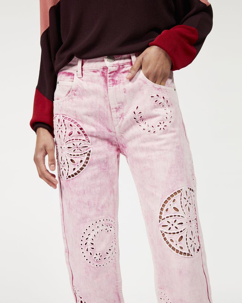 RONNY embroidered denim jeans  ISABEL MARANT