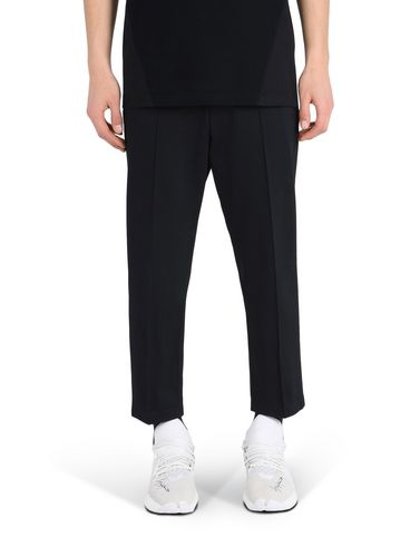 Y-3 CROPPED SLIM PANTS TROUSERS man Y-3 adidas