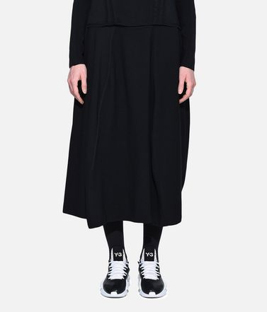 Y-3 Shorts Woman Y-3 Tech Wool Skort r