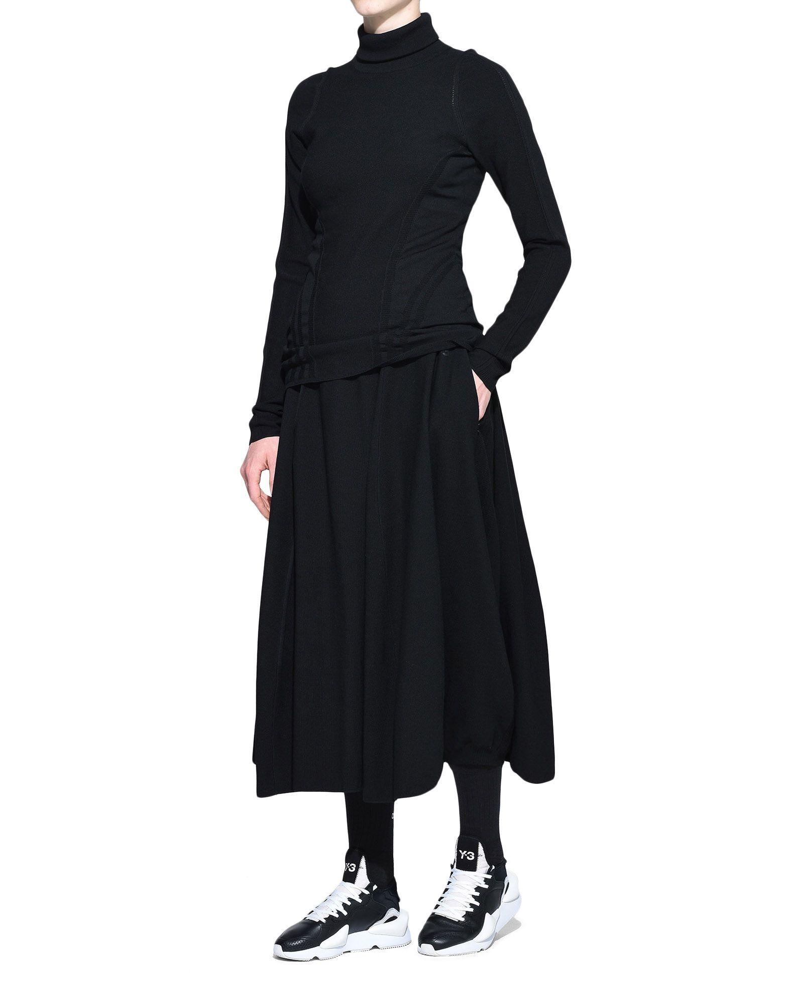 Y-3 Y-3 Tech Wool Skort Shorts Damen a
