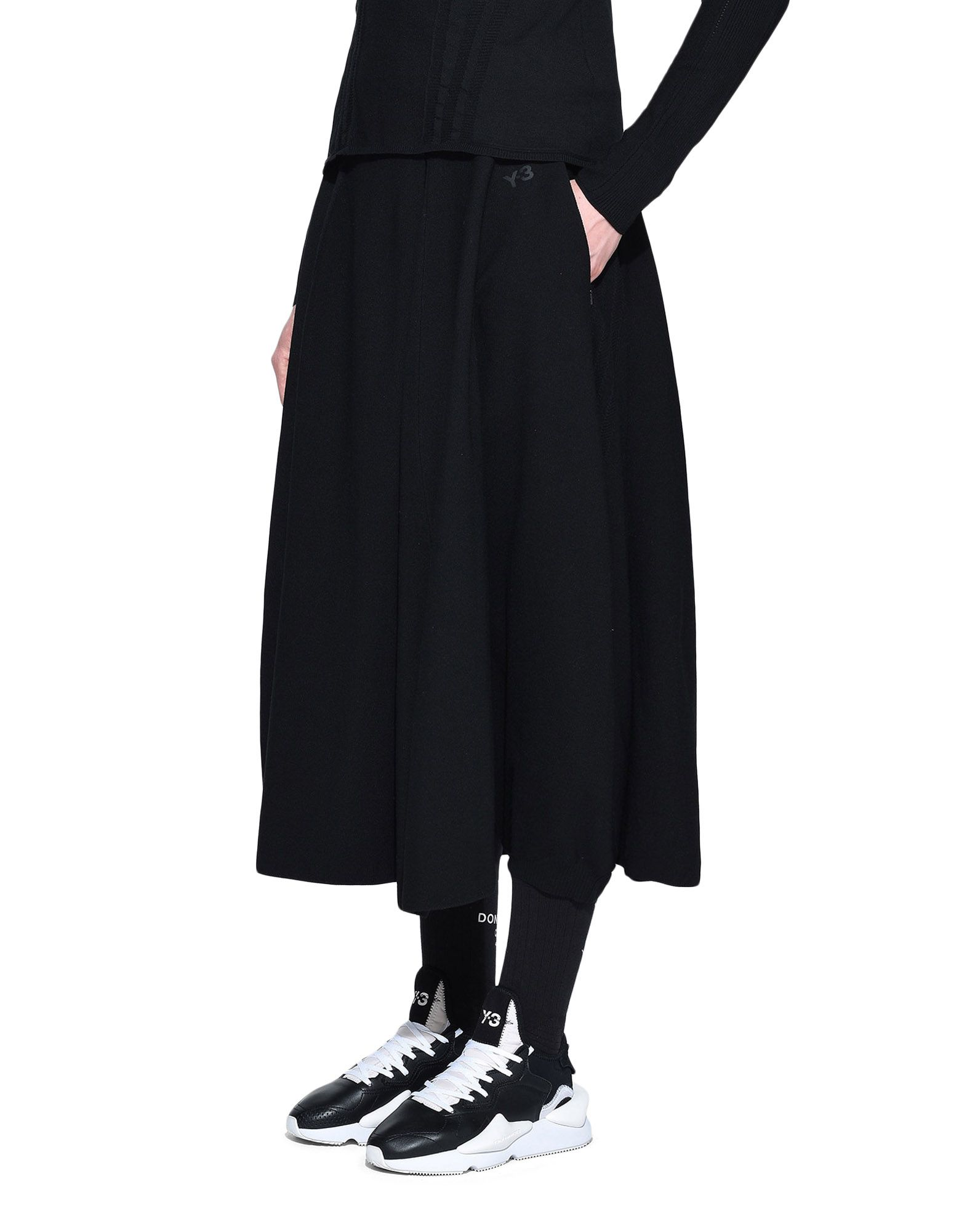 Y-3 Y-3 Tech Wool Skort Shorts Woman e