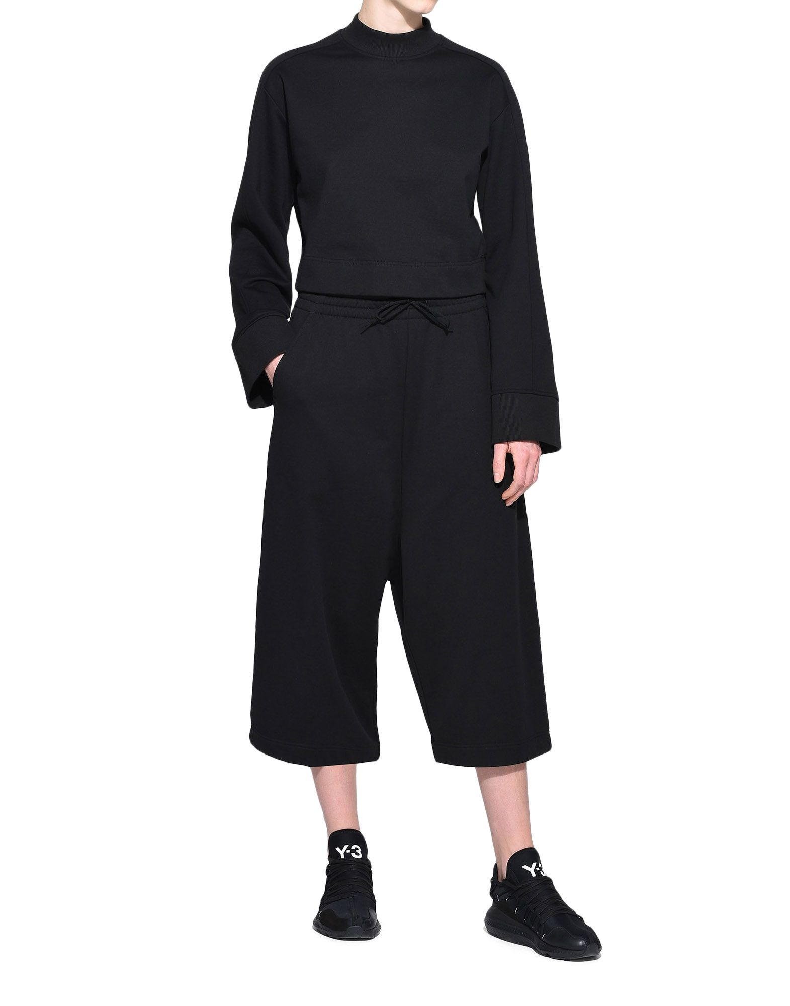 Y-3 Y-3 Wide Cropped Pants dreiviertellange Hose Damen a