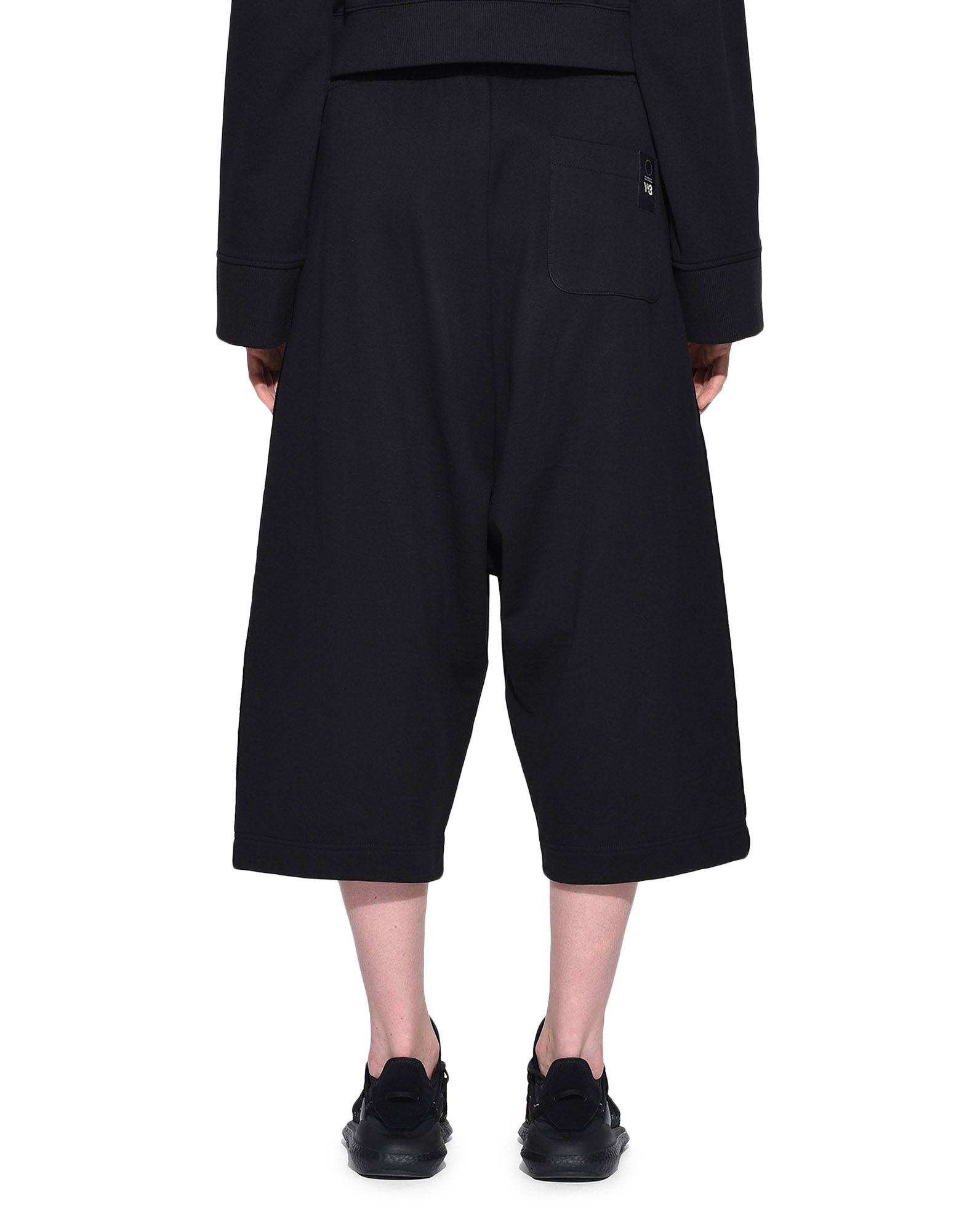 Y-3 Y-3 Wide Cropped Pants dreiviertellange Hose Damen d