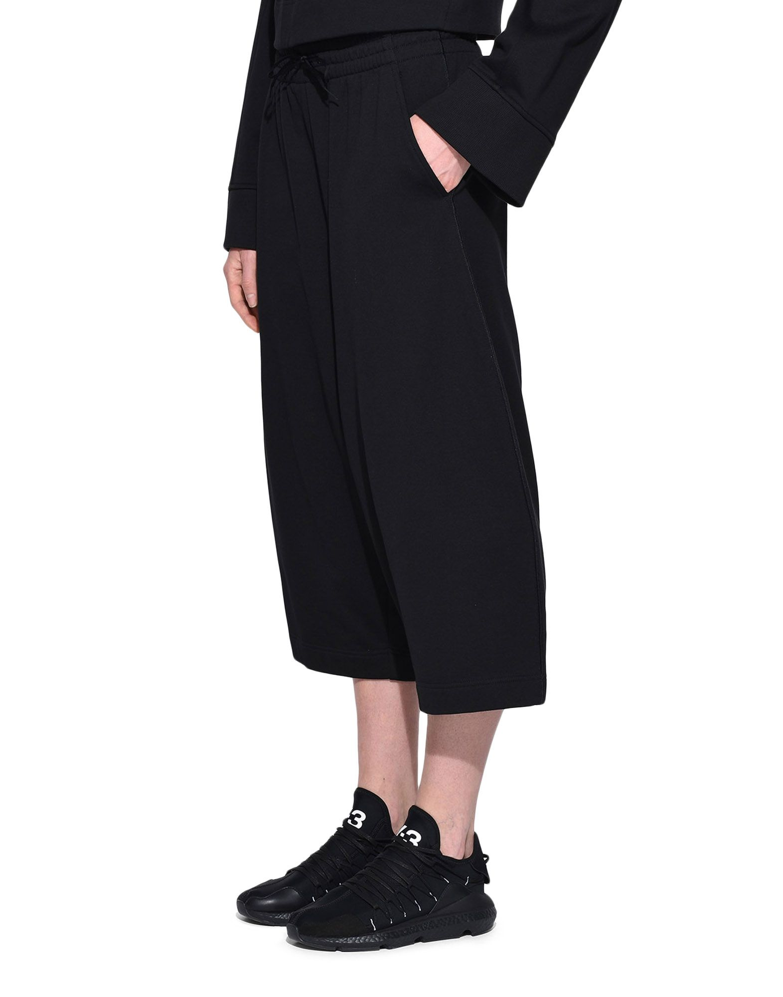 Y-3 Y-3 Wide Cropped Pants dreiviertellange Hose Damen e