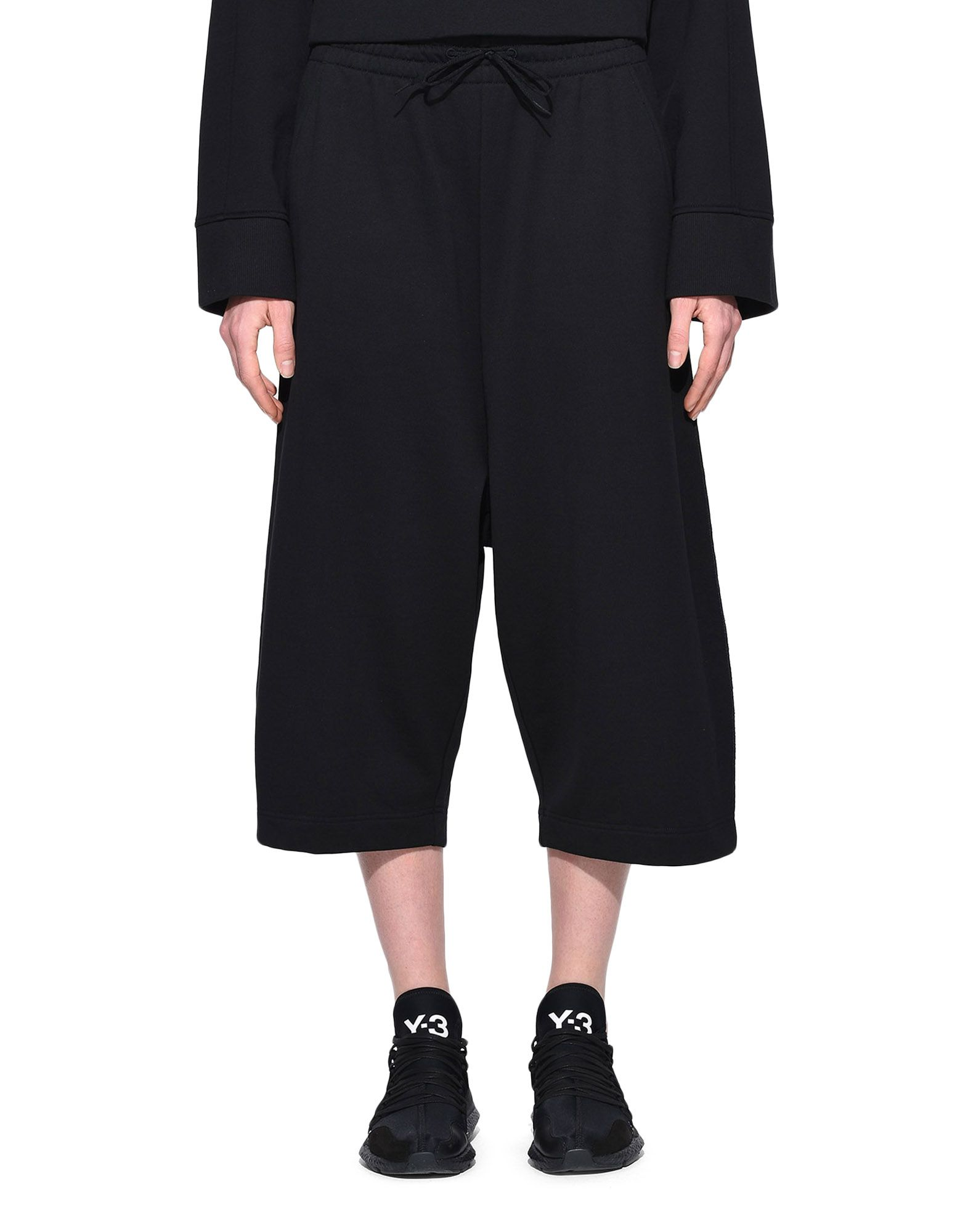 Y-3 Y-3 Wide Cropped Pants dreiviertellange Hose Damen r