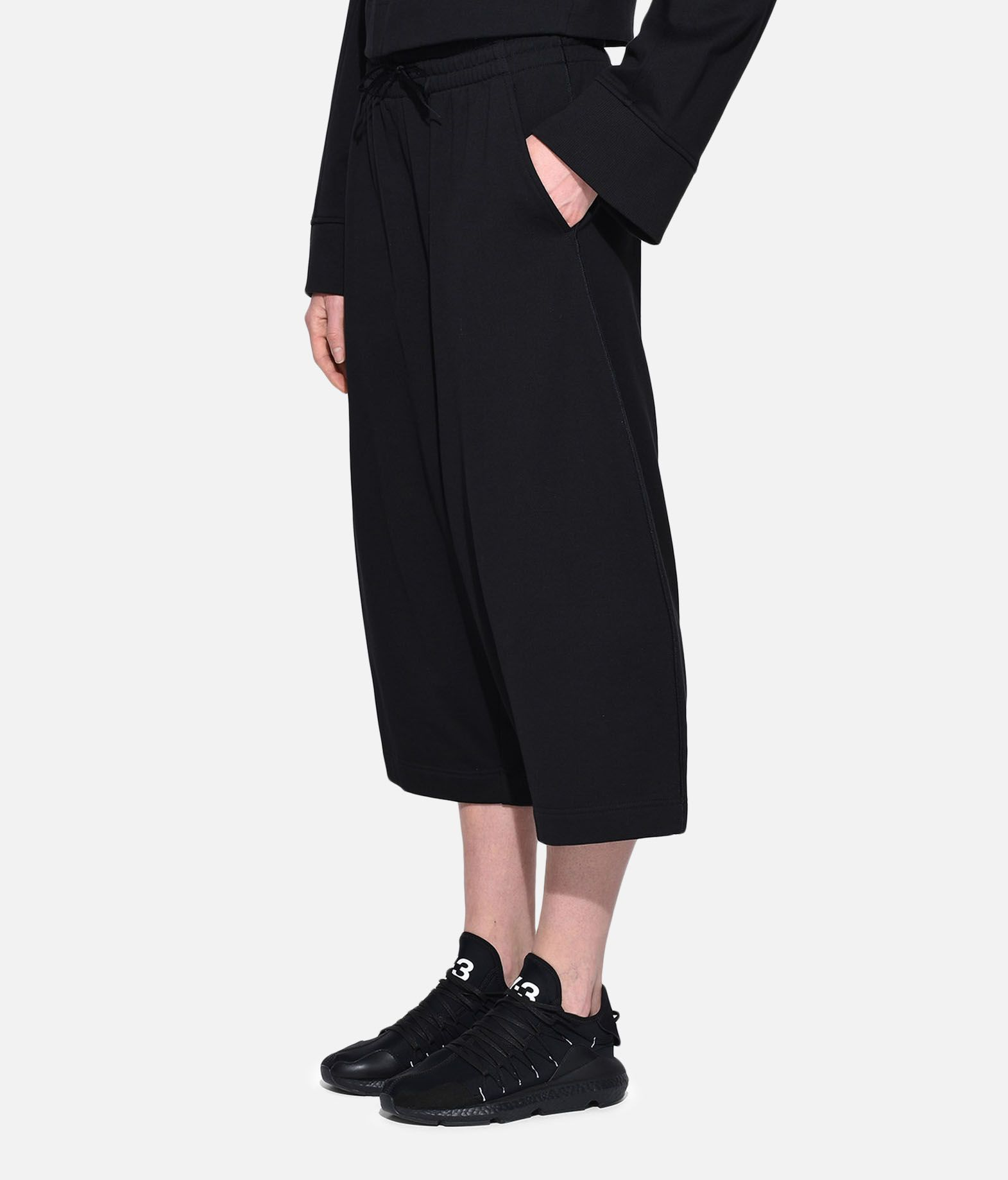 Y-3 Y-3 Wide Cropped Pants Cropped pant Woman e