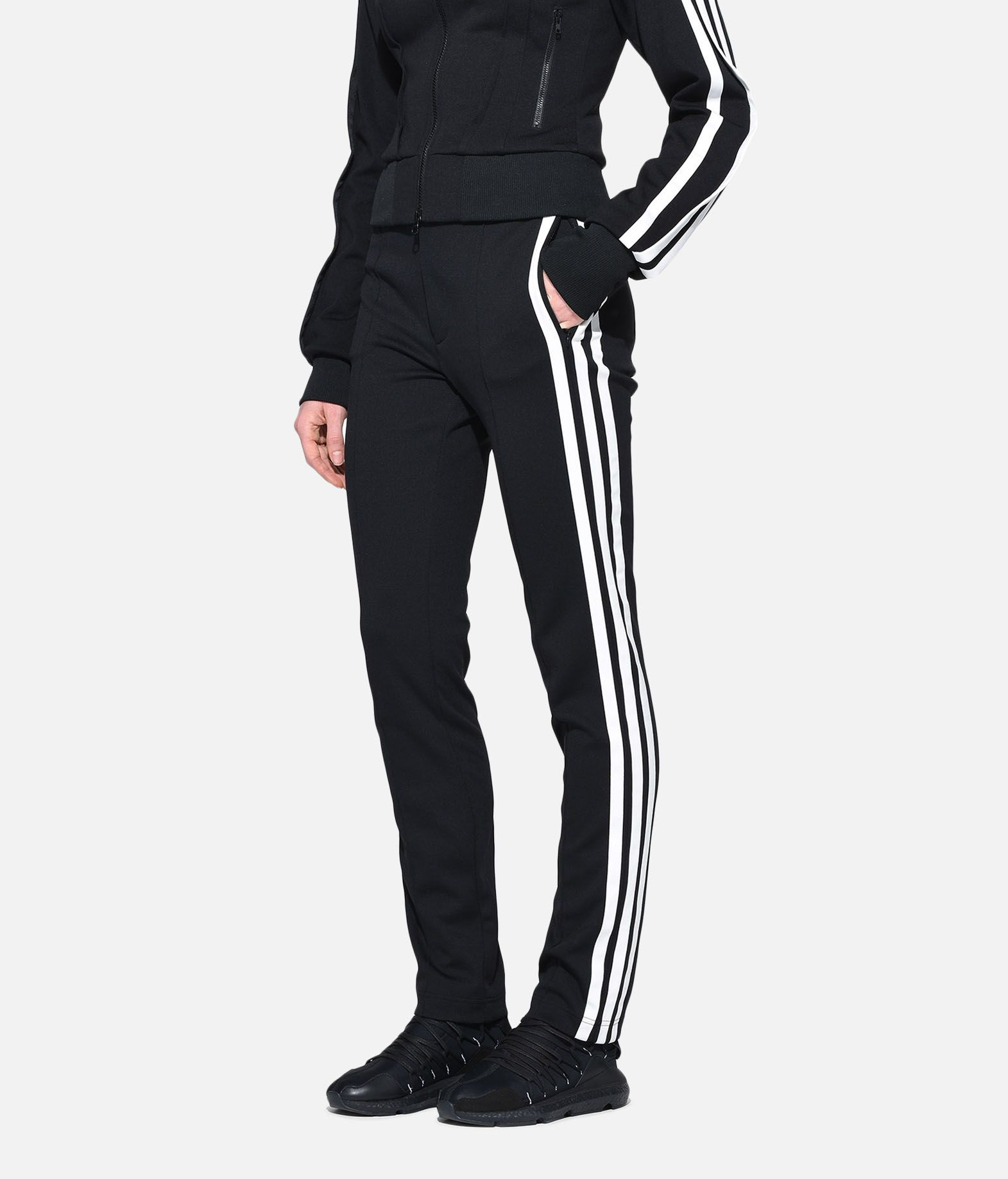 Y-3 Y-3 High Waist Matte Track Pants Casual trouser Woman e