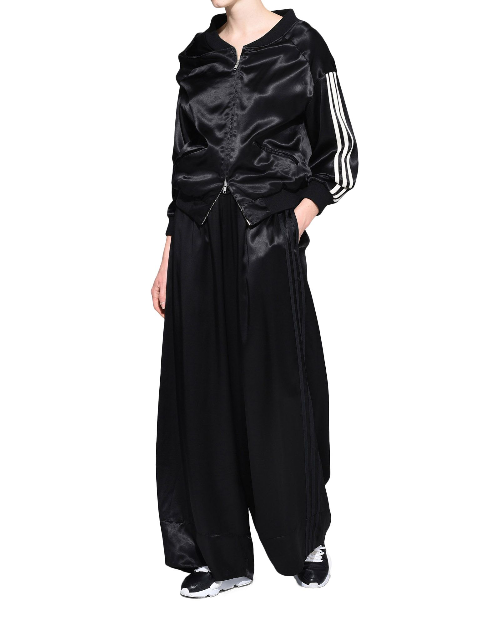 Y-3 Y-3 3-Stripes Lux Wide Track Pants Casual pants Woman a