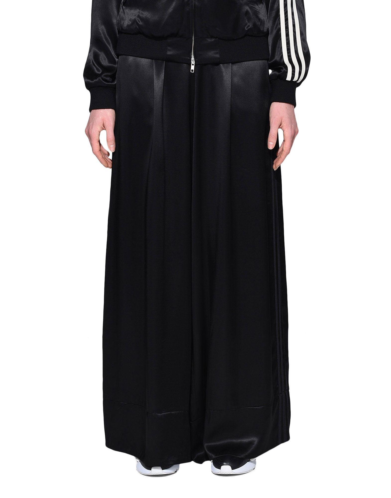 Y-3 Y-3 3-Stripes Lux Wide Track Pants Casual pants Woman r