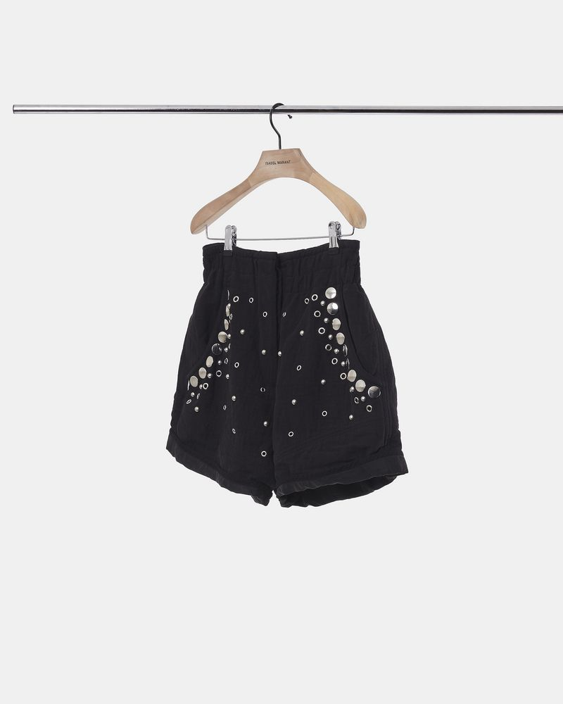 ESYTIS embellished tube-knit shorts  ISABEL MARANT
