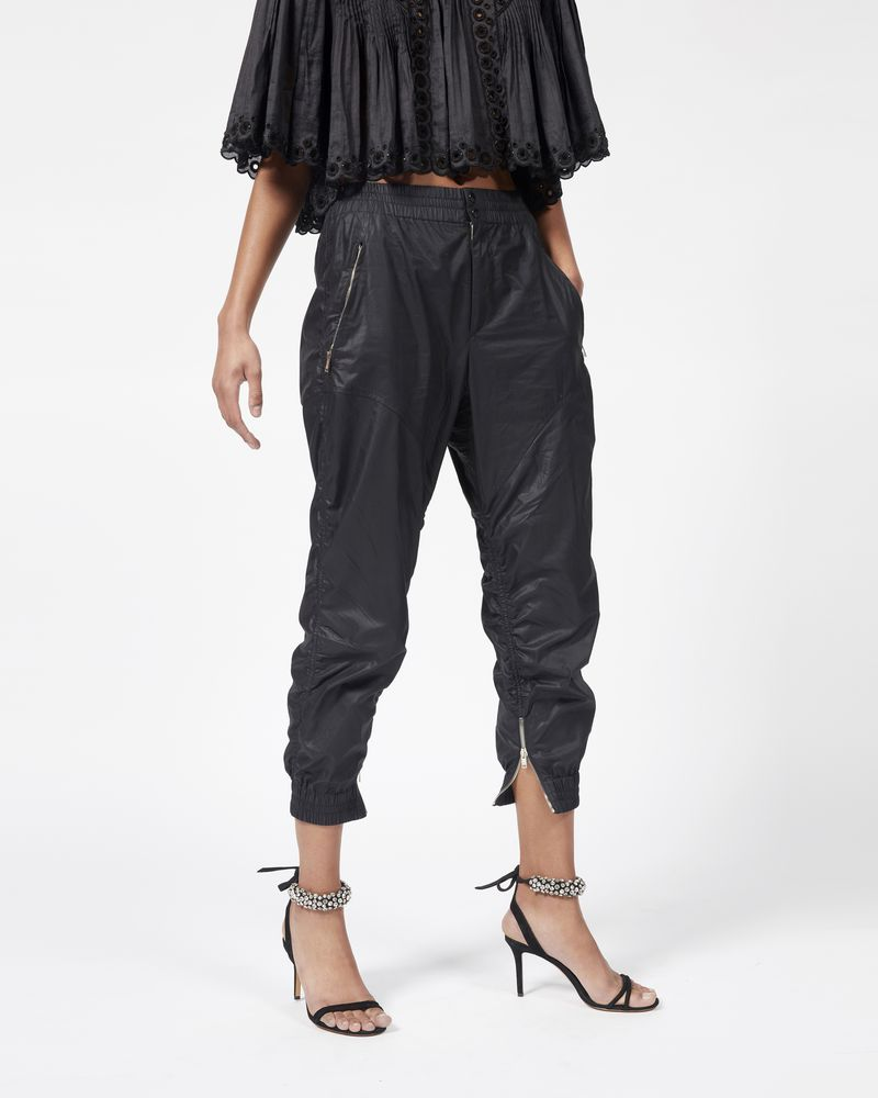 MARSTON waxed cotton trousers  ISABEL MARANT