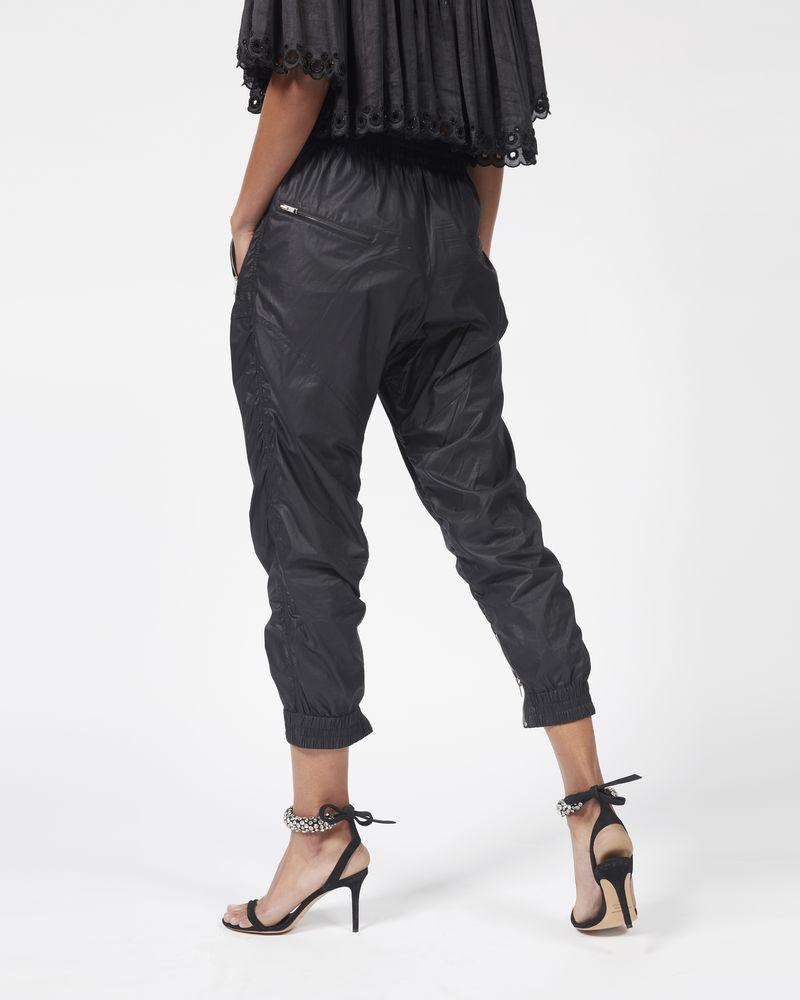 MARSTON Pantaloni in cotone cerato  ISABEL MARANT