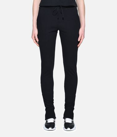 Y-3 Casual pants Woman Y-3 Fleece Slim Pants r